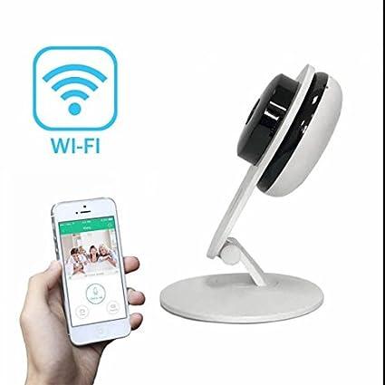 Wireless IP cámara vigilancia IR Monitor Abatible alta ...