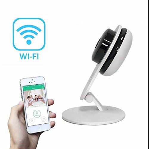 Wireless ip kamera Alarmanlagen Überwachungskamera Schwenkbare Ir Monitor Hohe AuflöSung ,Gegensprechfunktion,Wlan Netzwerk ip kamera Alarmanlagen mit IR Nachtsicht/Bewegungsmelder/für Haus/Baby Überwachung