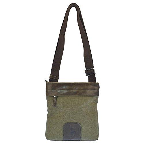 cm S ASSN bolsillo U trasero Bolsa bolsillo con hombro delantero de POLO 20x4x22 y OqBwH
