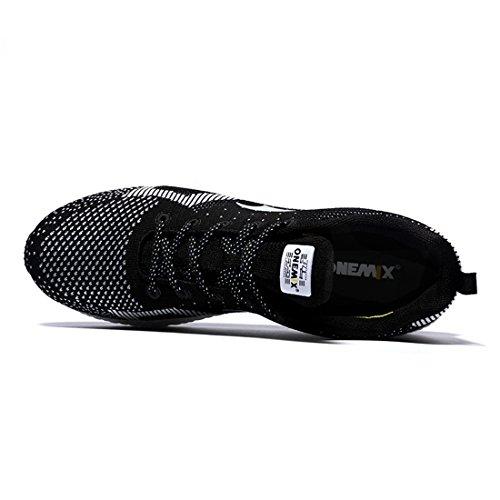 Onemix Zapatillas de Running para Asfalto para Hombre Negro / Blanco