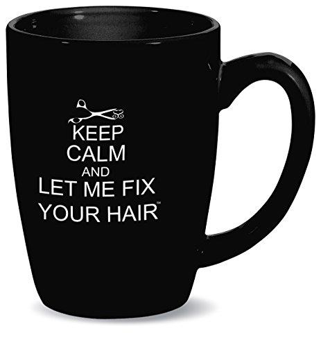 Simply Savvy Co Fix Your Hair Keep Calm Mug 14oz