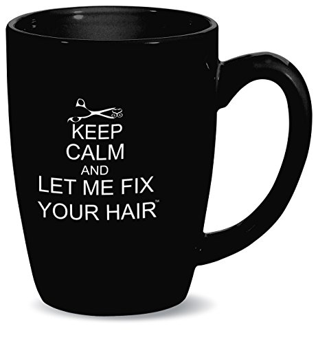 Simply Savvy Co Fix Your Hair Keep Calm Mug - Mug Hair