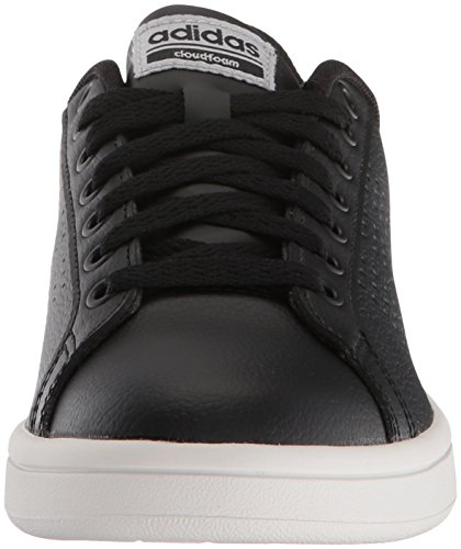 silver black Cf Metallic 10 Adidas Sneaker Advantage Women's M Us Black Cl Performance qR8F1
