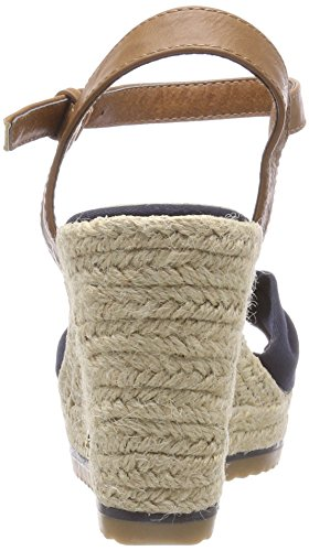 Femme Tailor Tom Sandales 4890206 Bleu Marine Bride Cheville BAOwvx8q