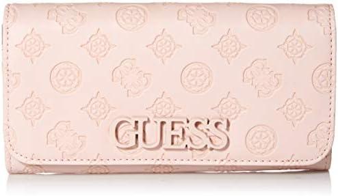 GUESS Kamryn Peony Large Flap Organizer Wallet, Blush: Amazon.ae