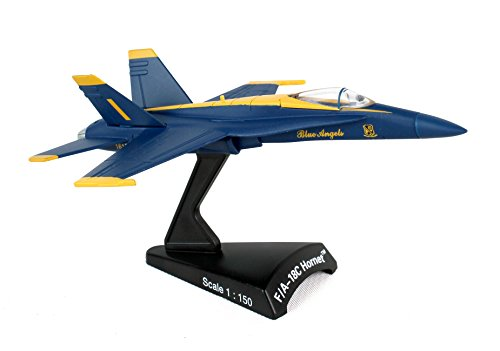 Daron Worldwide Trading F/A-18C Hornet Blue Angels 1:150 ()