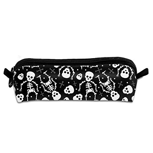Yilad Cool Skulls Halloween Pencil Case Pen Bag