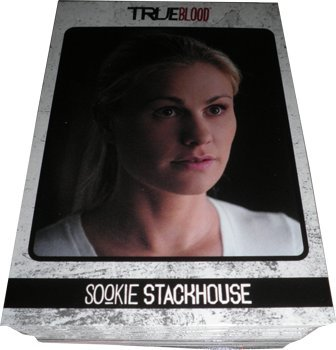 True Blood Archives Complete 72 Card Basic Set