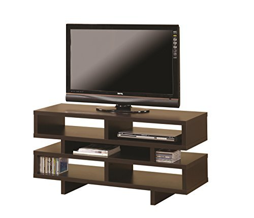 Coaster 700720 Home Furnishings TV Console Cappuccino [並行輸入品]   B07DZMZWCX