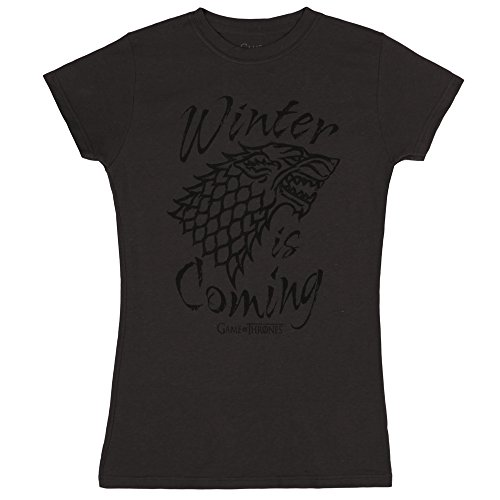 Game of Thrones Winter is Coming Juniors T-Shirt