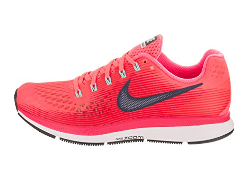 Nike Damen Wmns Air Zoom Pegasus 34 Laufschuhe Spoor Rood / Zwart