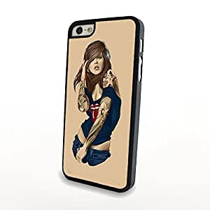 Generic Phone Cases Stylish Rock Girl With Tattoo for Samsung Galaxy Note3 Plastic Cover Hard Shell Case Matte Case Carrying Protector hjbrhga1544