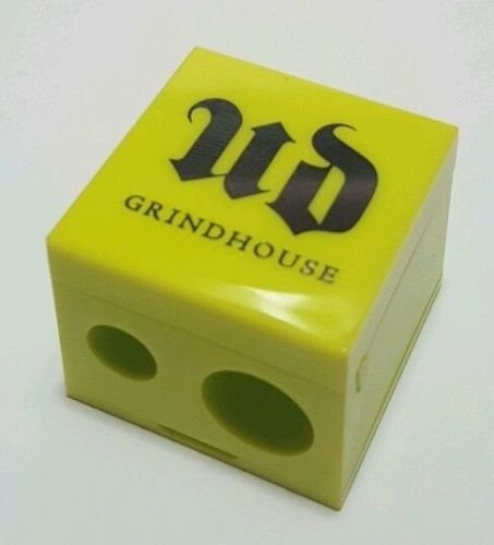 UD GRINDHOUSE Double Pencil Double Barrel Sharpener Light Green Yellow