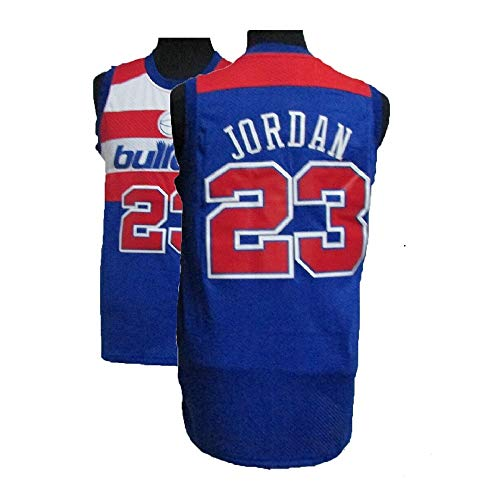 08135716e1a9 MAUNBAR Legend Mens  23 Basketball Jerseys Sports Jersey Retro Athletics  Jersey Blue(S-