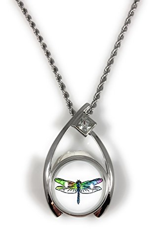 Dragonfly Snap Charm Pendant for 20 MM Snaps 18