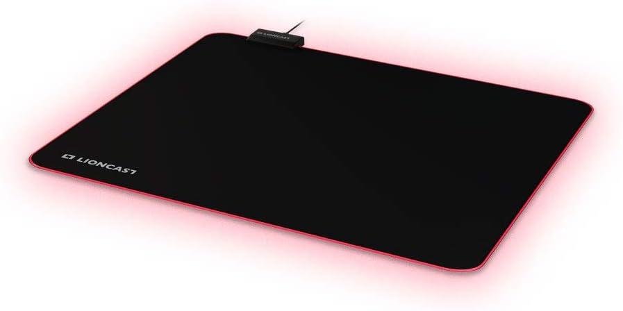 Lioncast Glow Rgb Gaming Mauspad 450mm X 355mm Premium