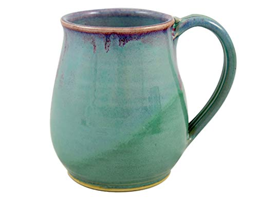 American Made Orchid Green Pottery Collection: 22-oz Coffee Mug