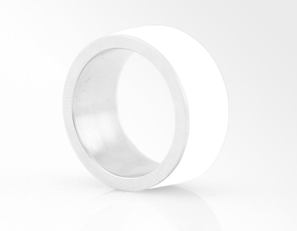 LYCOS Life NFC Smart Ring, White Size 8