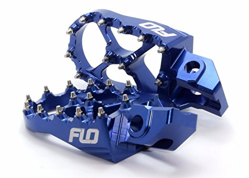 Ktm Foot Pegs Flo Motorsports for 2016 KTM Foot Pegs 125sx/150sx/ 250-450sx-f and Xc-f Blue fpeg-795-2blu by Flo Motorsports (Image #2)
