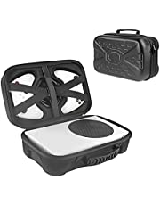Ferbao Hard Carrying Case Compatible with Xbox Series S Game Console Travel Storage Bag for Wireless Controllers and Accessories
