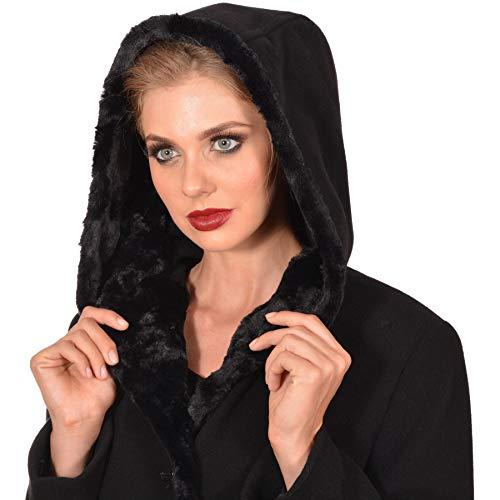 M Noir WomanManteau M Femme WomanManteau Noir Noir Femme WomanManteau Femme M cF13TlKJ