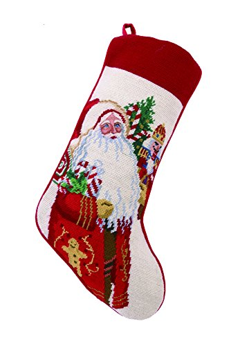 (Peking Handicraft Lolly Jolly Christmas Needlepoint Stocking)