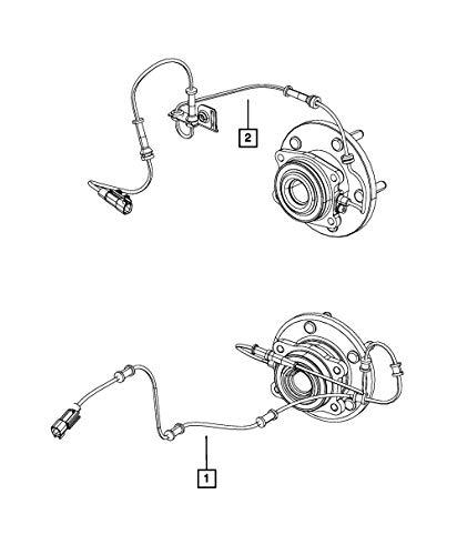 Genuine Mopar ABS Sensor 4779639AD