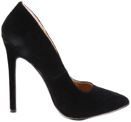 Black Kid Heel Highest Velvet Hottie Stiletto The Women's 1axqYXB
