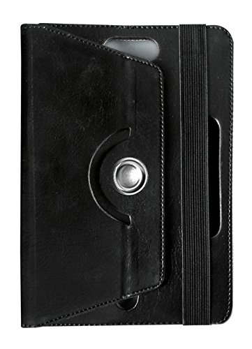 Fastway 360 Degree Rotating Tablet Book Cover for Apple iPad 2 Wi Fi Black