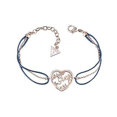 Guess Bracelet Femme Mania - Métal Doré Rose  Amazon.fr  Bijoux b35bb2546e6
