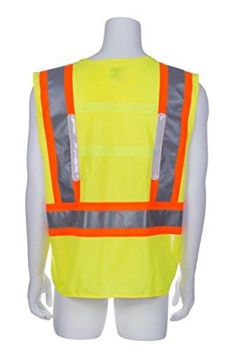 Hi Viz Vest With Led Lights in US - 7