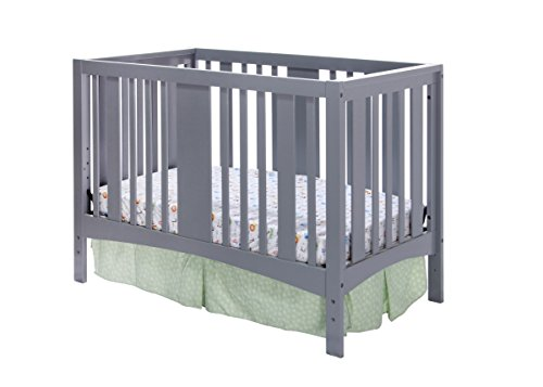 Dream On Me Havana 5 in 1 Convertible Crib Grey