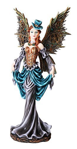 PTC 12 Inch Steampunk Dressed to The Nines Fairy Statue Figurine