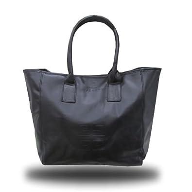 4eeed5031b43 Amazon | ジバンシィ GIVENCHY PUレザー トートバッグ 限定ノベルティ 【並行輸入品】 (ブラック) | トートバッグ