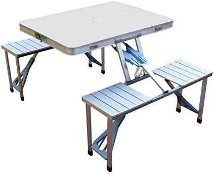 Mesas para picnic Mesa plegable de aluminio para uso portátil ...