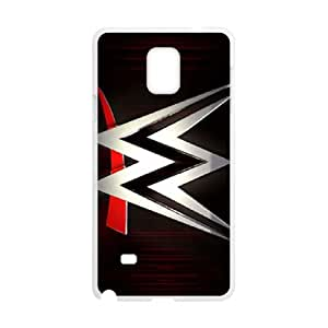 Samsung Galaxy Note 4 Cell Phone Case White WWE Plastic Unique Phone Case Cover CZOIEQWMXN23369