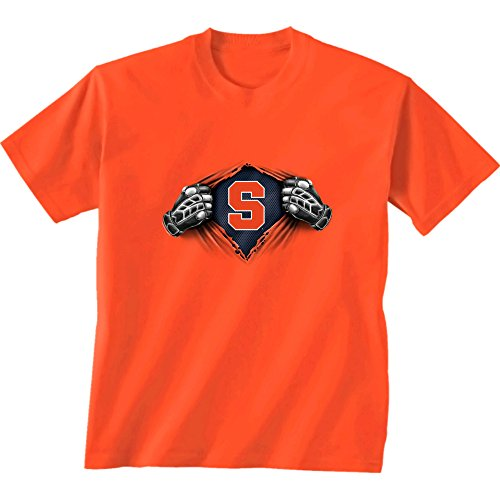 NCAA Syracuse Children Unisex Youth Super Short Sleeve Tee, Small, - T-shirt Orange Youth Syracuse