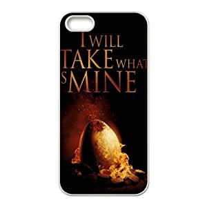 Custom Game of Thrones Back Cover Case for iphone5,5S JN5S-721