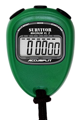 ACCUSPLIT New Survivor 2 - Green New Survivor SX 2 Series Stopwatch by ACCUSPLIT