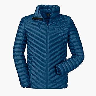 Schöffel Thermo Jacket Val d Isere3, gesteppte Thermojacke mit hochschließendem Kragen, wärmende und atmungsaktive Skijacke Herren, navy peony, 48 4