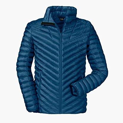Schöffel Thermo Jacket Val d Isere3, gesteppte Thermojacke mit hochschließendem Kragen, wärmende und atmungsaktive Skijacke Herren, navy peony, 48 1