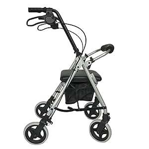 Amazon.com: YOUXD - Andador plegable de cuatro ruedas con ...
