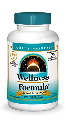 Source Naturals Wellness Formula Bio-Aligned Vitamins & Herbal Defense for Immune System Support – Dietary Supplement…