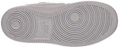 Para ps Low Borough 100 Court white Zapatillas Nike Niños Blanco white waxXtq55