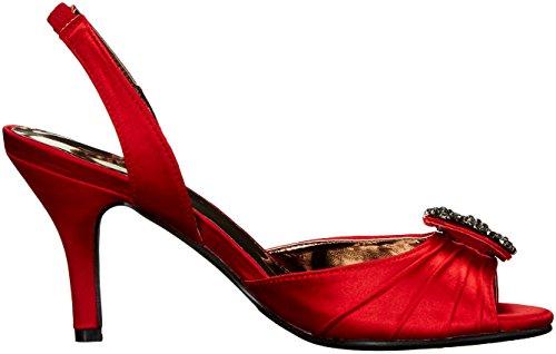 Annie Women Lara Red Dress Shoes Sandal Pq5xrqwEn