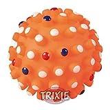 TRIXIE Vinyl Hedgehog Ball with Sound, 6