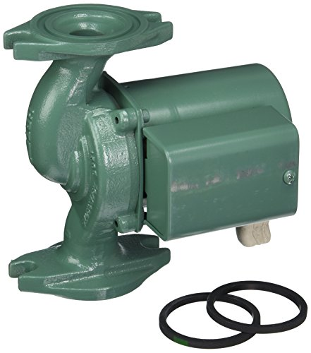 Iron Circulator Pump Cast (Taco 007-F5-8IFC Circulator with Integral Flow Check, Cast Iron)