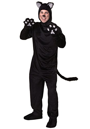 Adult Black Cat Costume Standard