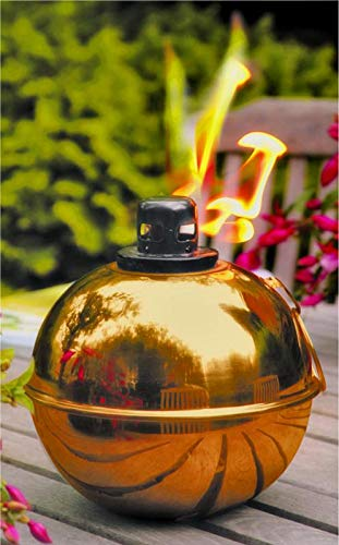 Jur_Global MintCraft GB-3709 Patio Torch, Citronella or Lamp Oil Fuel, Steel/Copper per 8 EA