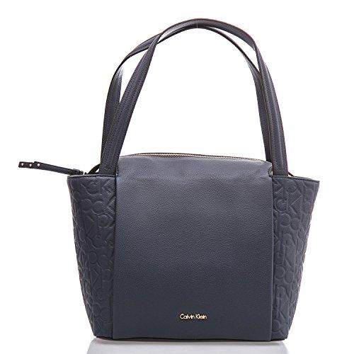 CALVIN KLEIN - Femme sac a main misha medium tote k60k602228 bleu navy